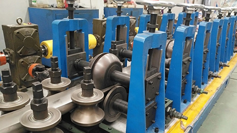 DB50 Expanded 76 High Frequency Welded Tube Mill Line