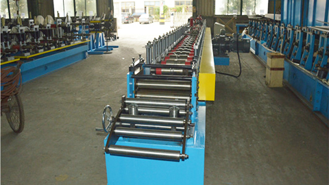 Roller Shutter Door Guide Rail Machine