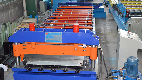 PU Roof:Wall Panel Roll Forming Machine
