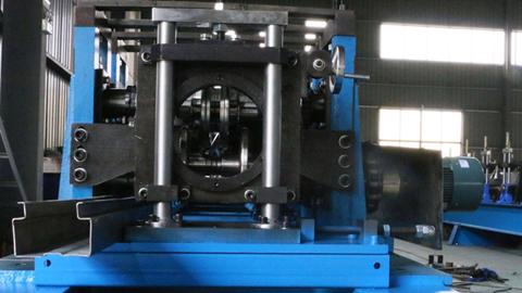 Rack Upright Roll Forming Machine