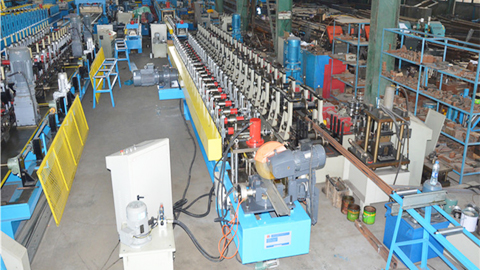 Shutter Bottom Roll Forming Machine