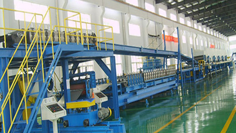 Continuous PU Sandwich Panel Line