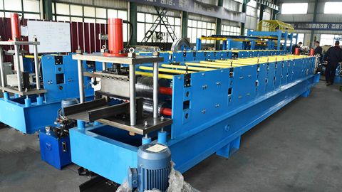 Standing Beam Roll Forming Machine