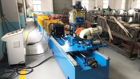 Octagonal Pipe Machine